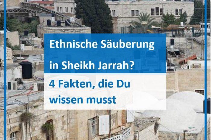 Ethnische Säuberung in Sheikh Jarrah? – 4 Fakten, die du wissen musst