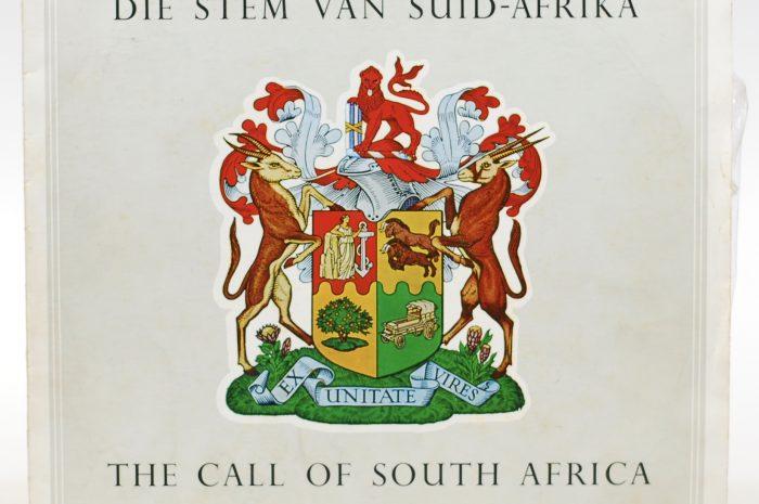 Die Stem van Suid-Afrika: Historisches Kulturgut oder Symbol der Apartheid?